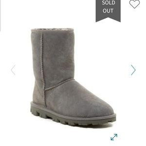 Ugg Essential Short Genuine grey boots. Size 10